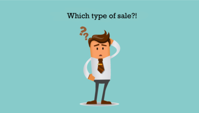Different Types of Sales - which Options do I have?